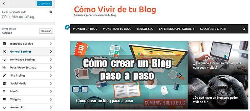 Cómo crear un blog paso a paso – Cómo Vivir de tu Blog