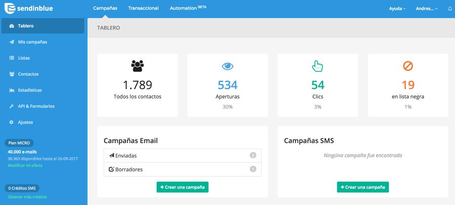 Mejor alternativa en español a Mailchimp para mandar correos masivos