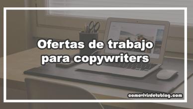 Ofertas de trabajo para copywriters