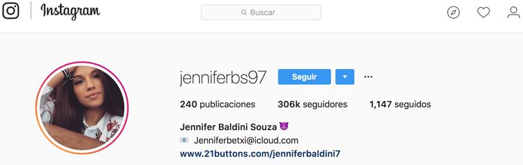 Instagramer que moda que usa 21buttons