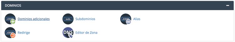 dos dominios en un mismo hosting
